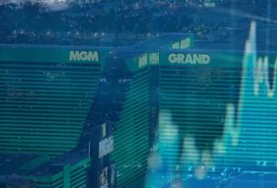 MGM casino's stock is fluctuating.